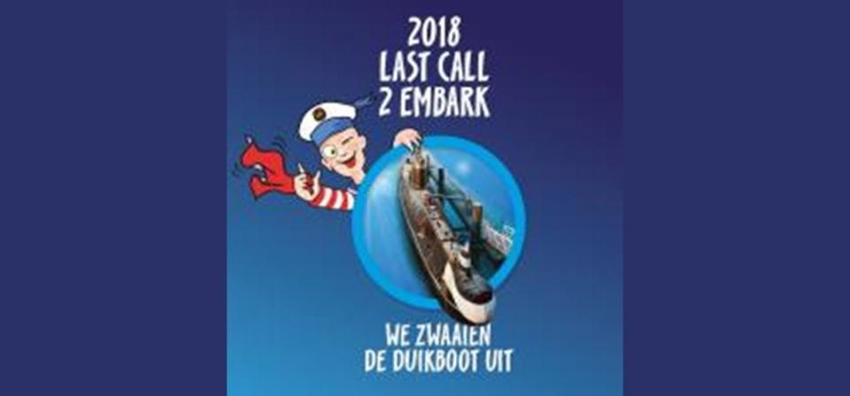 Last call to embark van de duikboot in Seafront Zeebrugge